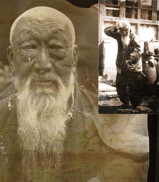 Wang Ji-wu (1891 - 1991), lékař a mistr Shanxi Xingyiquanu