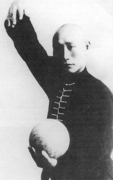 Fu Zhen Song (I881-1953), mistr stylu Baguazhang a zakladatel Fu stylu Wudangského boxu